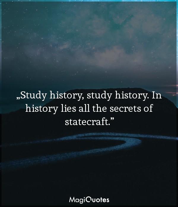 Study history, study history