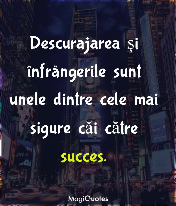 Cele mai sigure căi către succes